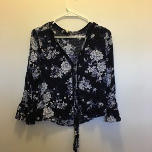 American Eagle floral top.